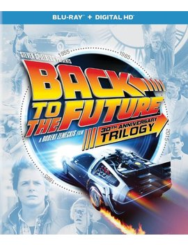 Ay] [4 Discs] by Back To The Future: 30th Anniversary Trilogy [Bl