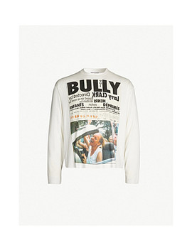 Bully Slogan Print Cotton Jersey Top by Enfants Riches Deprimes
