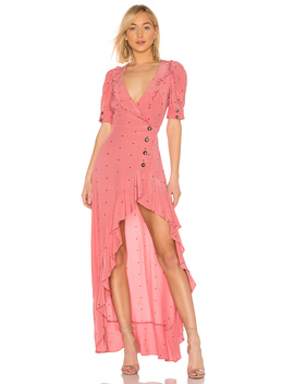 X Revolve Wrap Dress by For Love & Lemons