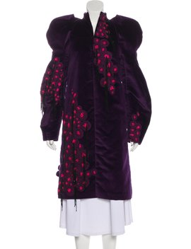 Velvet Embellished Coat by Manish Arora