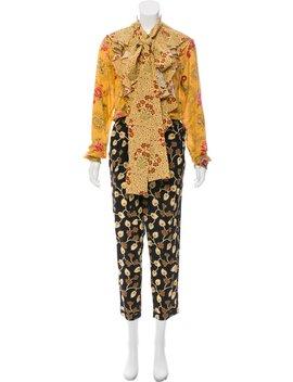 Silk Printed Jumpsuit by Faith Connexion