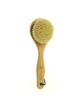 Hydréa London Classic Short Body Brush With Natural Hog Bristles   Medium Strength by Hydréa London