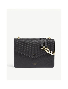 Kalila Envelope Leather Cross Body Bag by Ted Baker