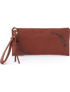 Vida Floral Leather Wristlet by Hobo