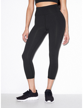 Forward Crop Legging by American Apparel
