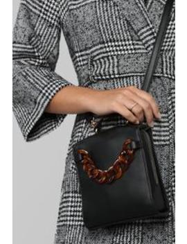 Boxy Lady Ii Crossbody   Black by Fashion Nova