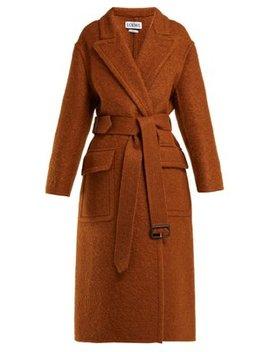 X Charles Rennie Mackintosh Mohair Blend Coat by Loewe