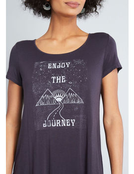 Enjoy The Journey Graphic Tee by Modcloth