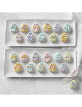 Whimsy Cookies Mini Easter Egg Cookies by Williams   Sonoma