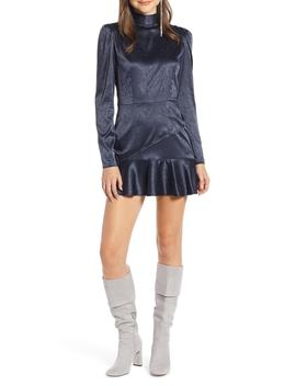 Ruffle Hem Minidress by Something Navy