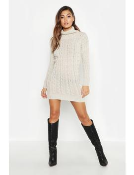 Knitted Jumper Dress by Boohoo
