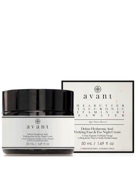 Avant Skincare Deluxe Hyaluronic Acid Vivifying Face And Eye Night Cream 50ml by Avant Skincare