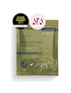 Beauty Pro Nourishing Collagen Sheet Mask With Olive Extract by Beauty Pro