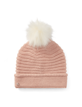 Chunky Garter Stitch Hat by Ralph Lauren