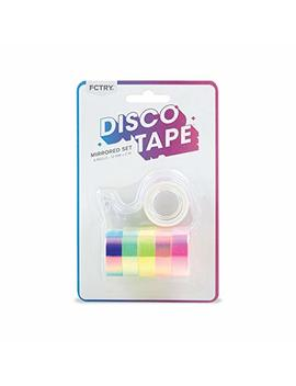 Disco Tape For Packing Or Crafting, Set Of 1 by Fctry