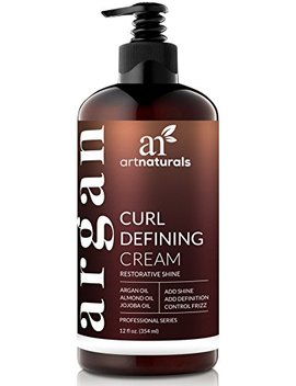 Art Naturals Curl Defining Cream   (12 Fl Oz / 355ml)   Curls Amplifier With Argan Oil   For Wavy And Curly Hair   Natural And Sulfate Free by Art Naturals