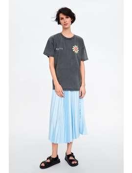 T  Shirt Met Smiley® Originalsnieuw Dames by Zara