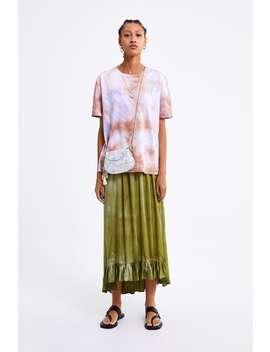Tie Dye T  Shirtnieuw Dames by Zara
