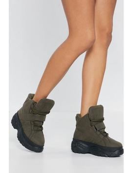 Hi Top Lace Up Spice World Sneaker by Nasty Gal