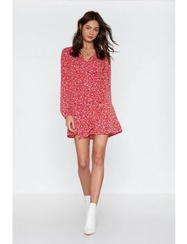 Flower Bomb Floral Romper by Nasty Gal