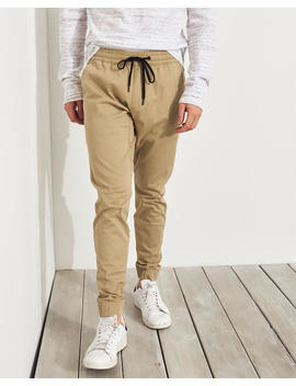 Advanced Stretch Super Skinny Jogger Pants by Hollister