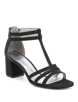 Anella Block Heel Dress Sandals by Adrianna Papell