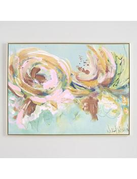 Spring Floral Abstract By Nikol Wickman Canvas Wall Art by World Market