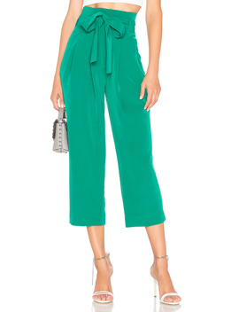 X Revolve Sierra Paper Bag Slacks by Chrissy Teigen