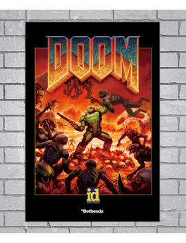 E208 Art The Ultimate Doom 4 Game 18 24x36inch Poster New Gift by Ebay Seller