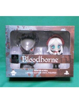 Bloodborne Hunter And Doll Vinyl Figure Set Nib Sony Officially Licensed by Esc Toy