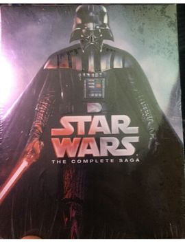 Star Wars: The Complete Saga (Blu Ray Disc, 9 Disc Set) New Unopened by Ebay Seller