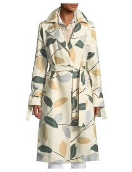 Rayna Inspired Laurel Cotton Trench Coat by Lafayette 148 New York