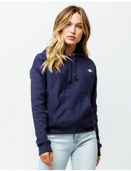 Champion Reverse Weave Indigo Womens Hoodie by Champion