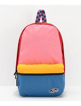 Vans Calico Patchwork Backpack by Vans