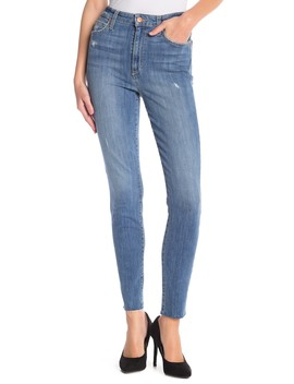 Charlie Raw Hem Ankle Skinny Jeans (Ridley) by Joe's Jeans