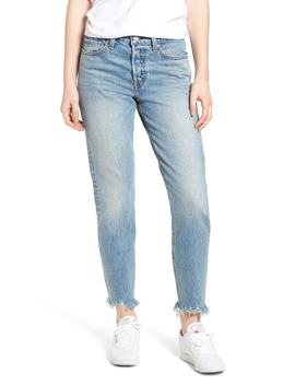 Levi's(R) Wedgie Icon Fit Raw Hem Jeans (Shut Up) by Levi's
