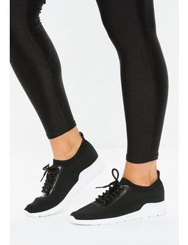 Black Gym Sneakers by Missguided