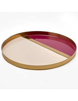 Mo Drn Glam Multi Colored Decorative Tray by Mo Drn