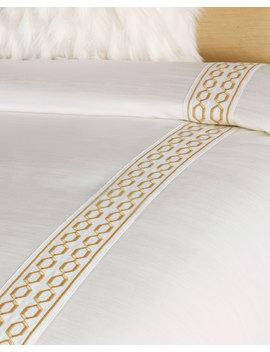 Luxe Oversized Queen Duvet by Neiman Marcus