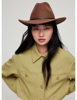 Western Wool Fedora by Auxiliary