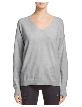 Lace Up Back Cashmere Sweater   100% Exclusive by Aqua Cashmere