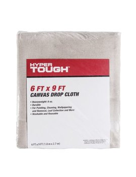 Hyper Tough 6x9 Canvas Drop Cloth by Hyper Tough