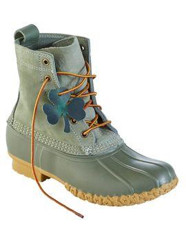 "Women's L.L.Bean Boot, 8"" Shamrock Limited Edition by L.L.Bean"