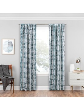 Delaney Thermaweave Blackout Curtain Panels   Eclipse by Eclipse