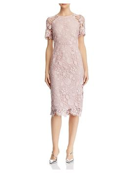 Lace Sheath Dress by Eliza J