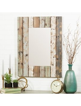 Torres Farmhouse Wall Mirror by Aspire Home Accents