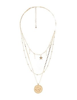Layered Star Necklace by Charlotte Russe
