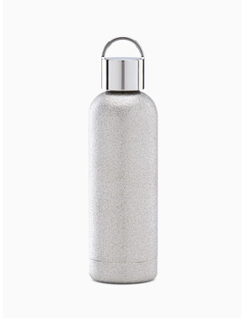 Silver Glitter Tumbler by Kate Spade