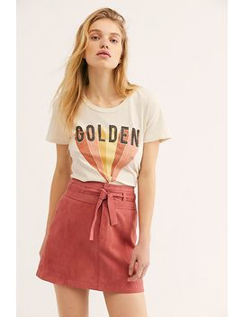 Livin For Love Suede Skirt by Free People
