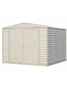 Dura Mate 8 Ft. W X 8 Ft. D Plastic Storage Shed by Duramax Building Products